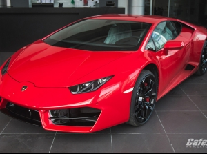 Cận cảnh Lamborghini Huracan LP580-2 đầu tiên tại Việt Nam