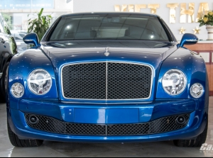 Mục sở thị cỗ xe siêu sang Bentley Mulsanne Speed
