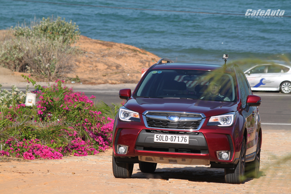 Subaru Forester 2016: Thực dụng và hơn thế nữa