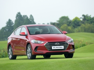 Hyundai Elantra 2016 ra mắt tại Việt Nam