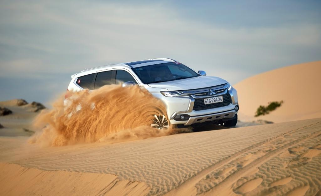 Một ngày theo gót nhà vô địch Dakar Rally với Mitsubishi Pajero Sport