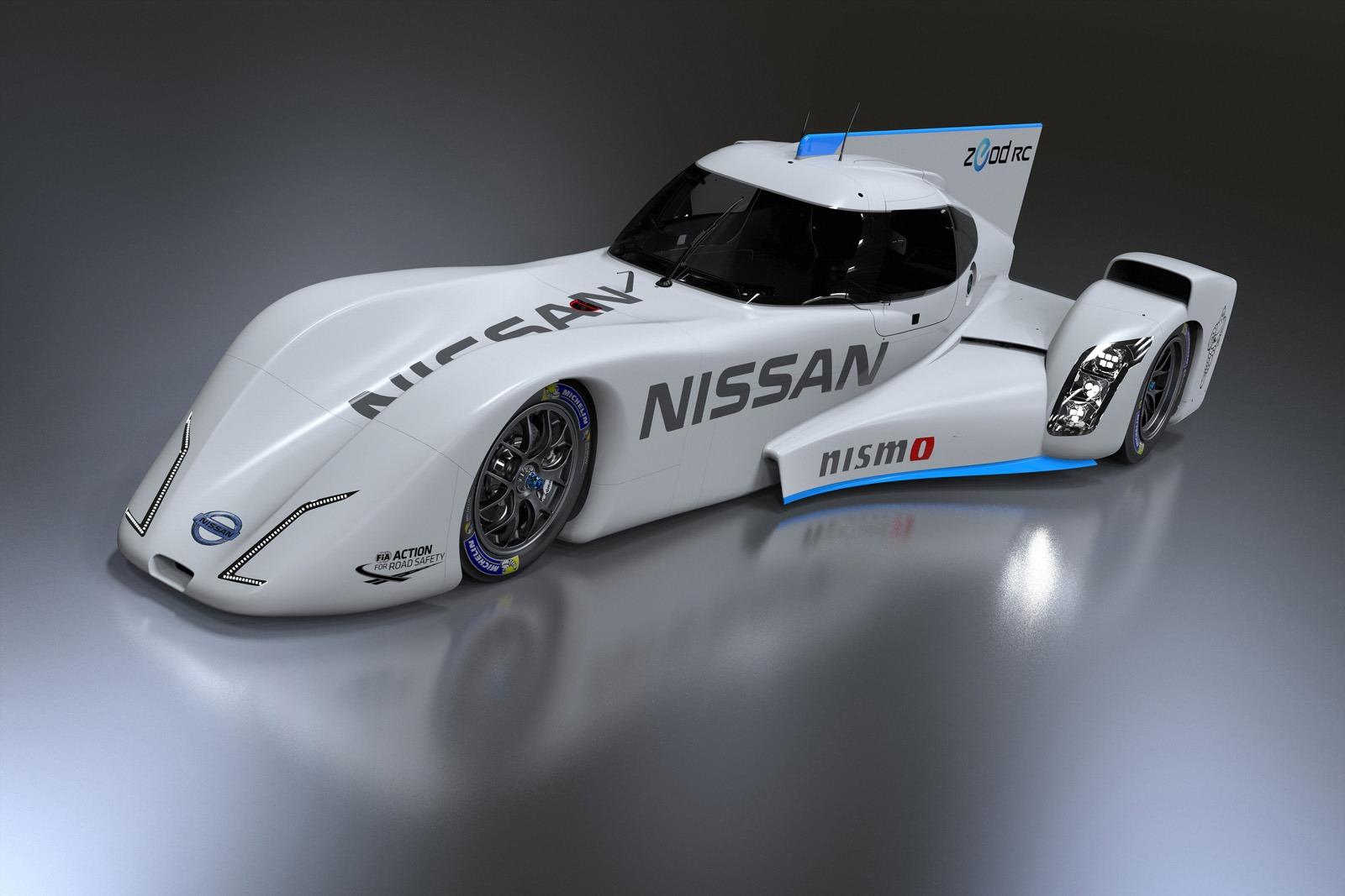 Nissan ZEOD RC phiên bản mới có thêm động cơ tăng áp