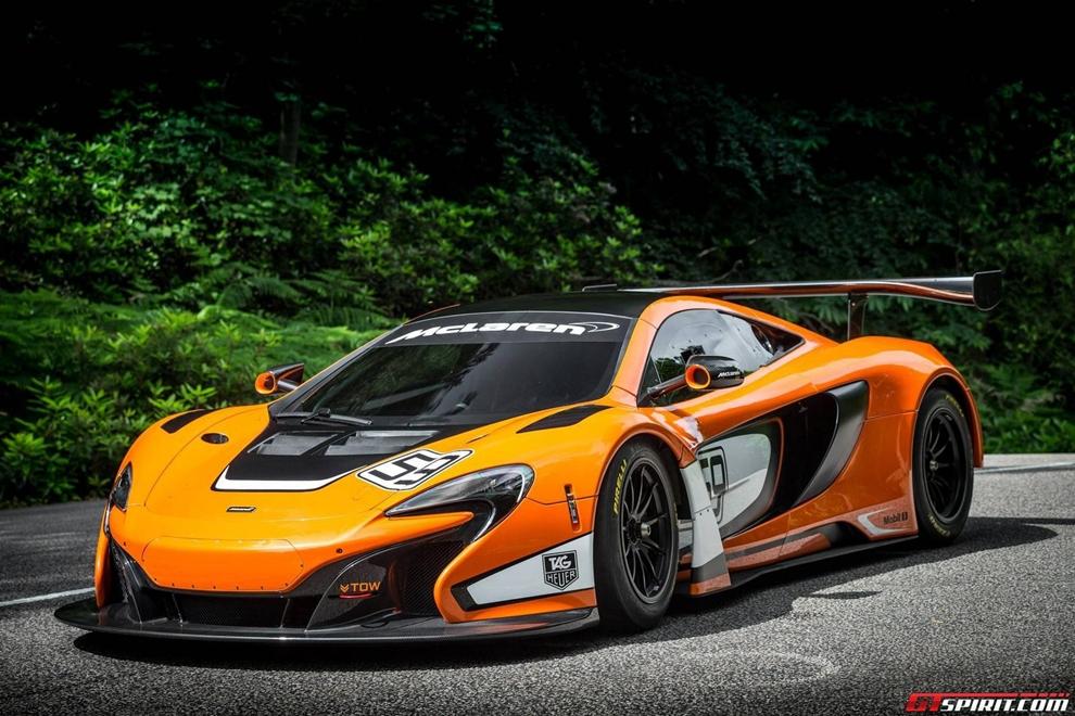 McLaren vén màn siêu xe đua 650S GT3