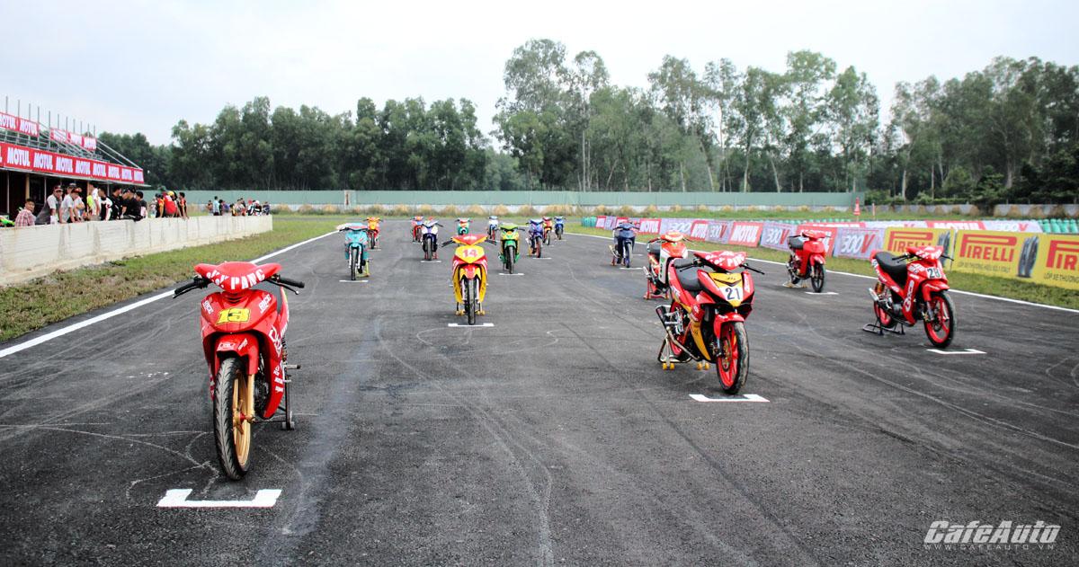 Giải đua mô tô Motul Racing Cup 2016 chính thức khởi tranh