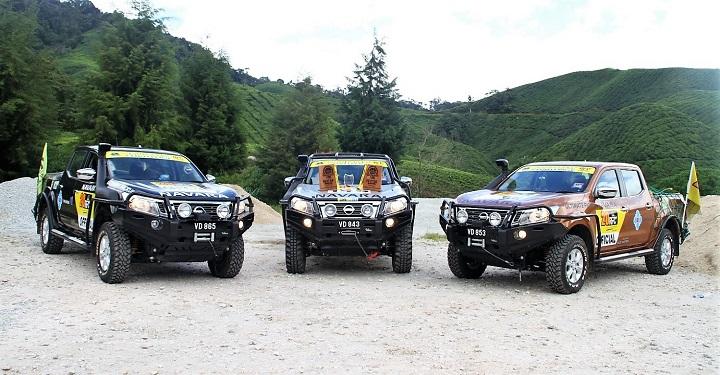Nissan Navara bán tải tốt nhất tại Rainforest Challenge