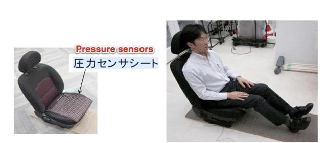 Công nghệ mới: ghế xe hơi nhận diện lái xe bằng... bàn tọa