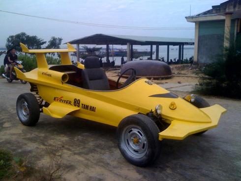 Thợ cơ khí Việt Nam chế tạo 'xe đua F1'