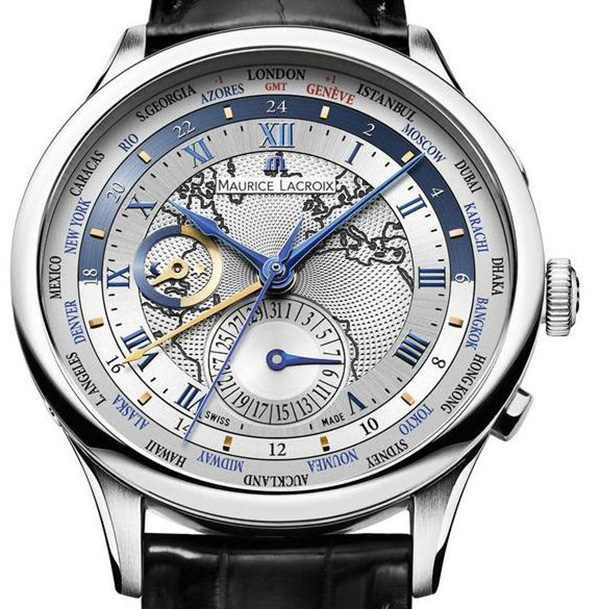 Đồng hồ Maurice Lacroix Masterpiece Worldtimer