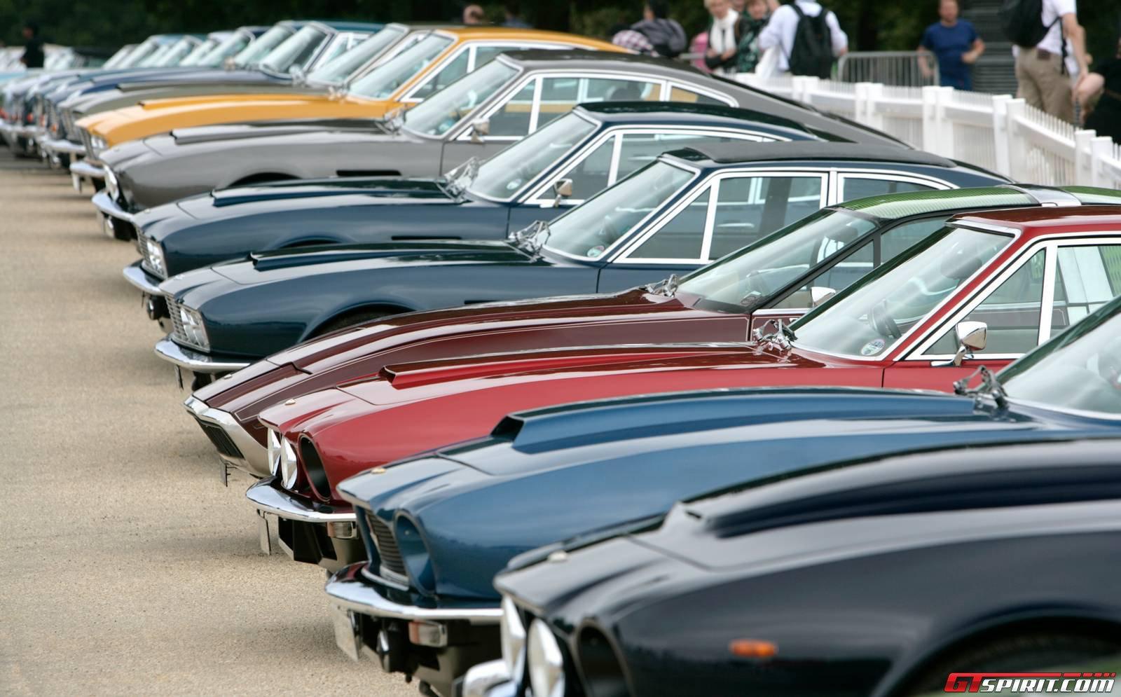 Aston Martin kỷ niệm 100 năm ra đời