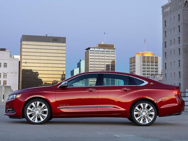 Chevrolet Impala 2014 chiến thắng trên sân nhà