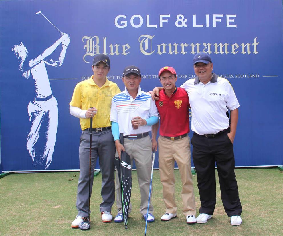 Golf & Life Blue Tournament khởi tranh