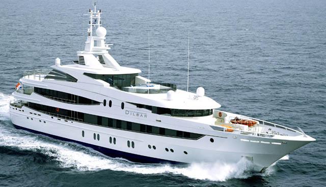 10 du thuyền sang trọng nhất thế giới