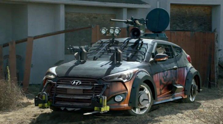 Muôn kiểu xe chống zombie của Hyundai
