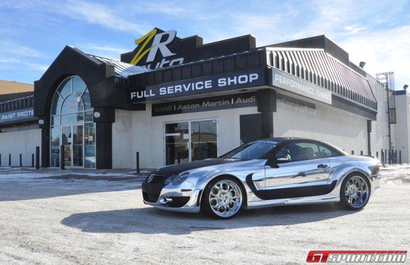 """Mercedes SL 55 AMG """"lạ lẫm"""" qua tay ZR Auto"""