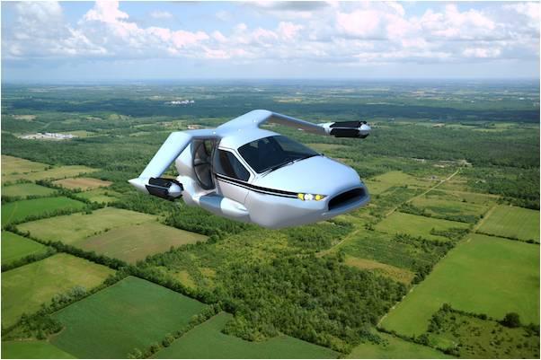Ấn tượng với xe bay sắp ra mắt trên thế giới