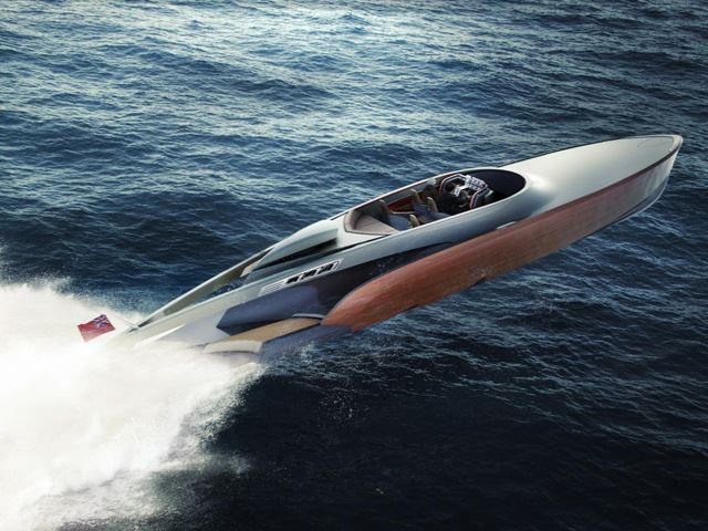 Khám phá siêu du thuyền sử dụng động cơ Rolls-Royce 1.100 mã lực
