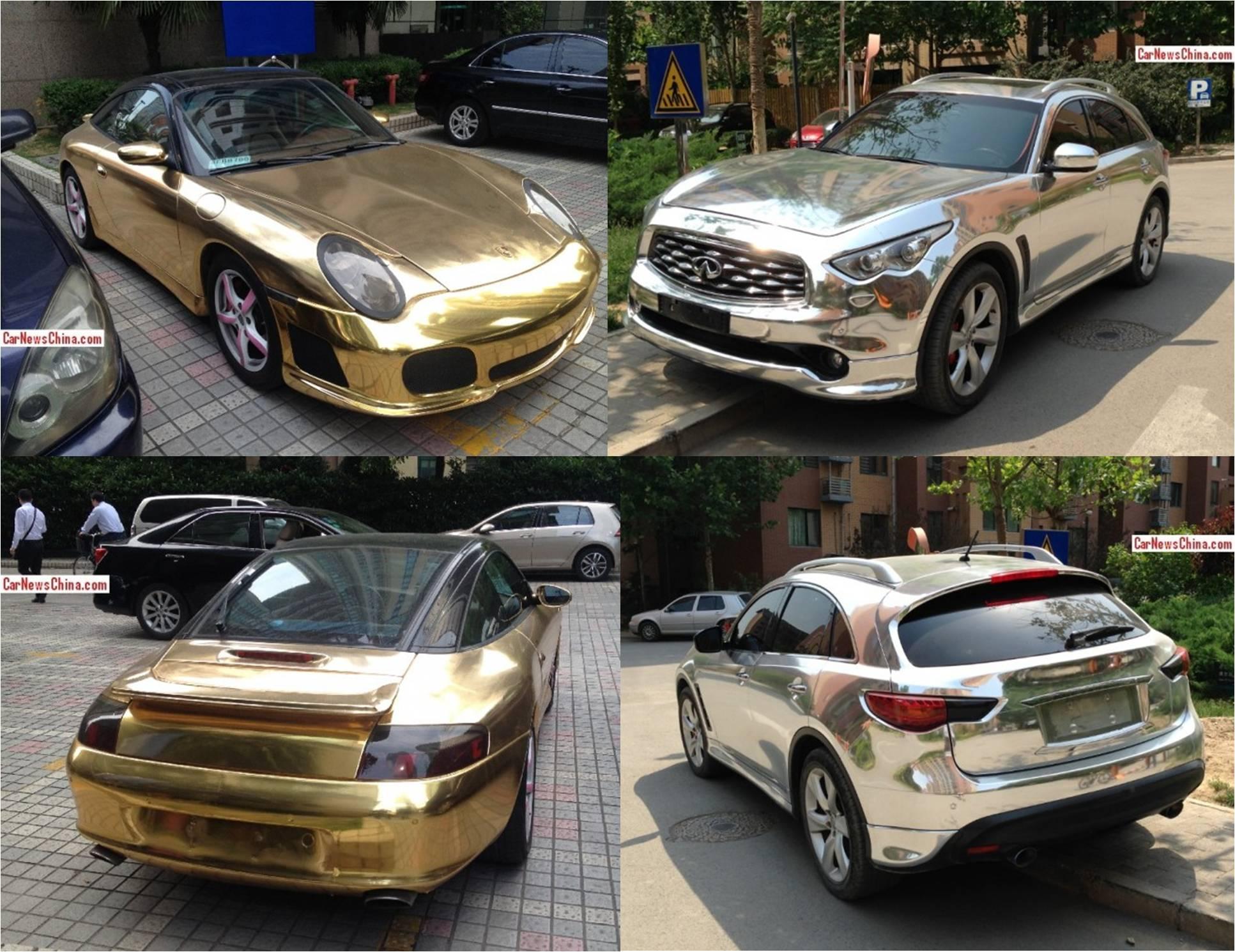 """Thêm cặp đôi """"xe vàng xe bạc"""" tại Trung Quốc"""