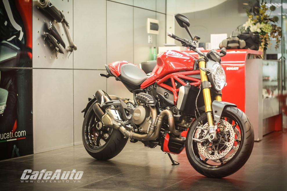 Chi tiết Ducati Monster 1200S tại Việt Nam