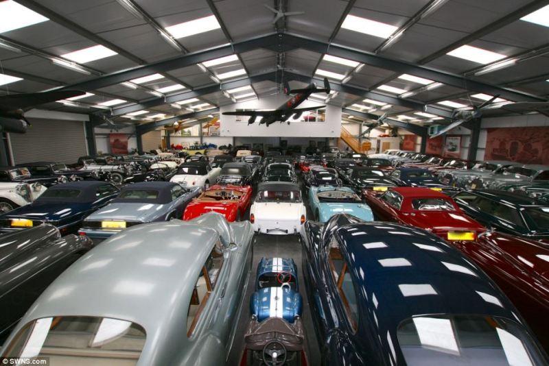 Jaguar mua lại bộ sưu tập xe cổ hơn 500 chiếc