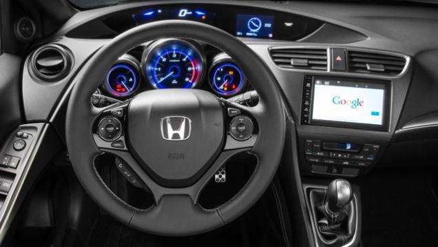 Honda là hãng đầu tiên sử dụng hệ điều hành Android