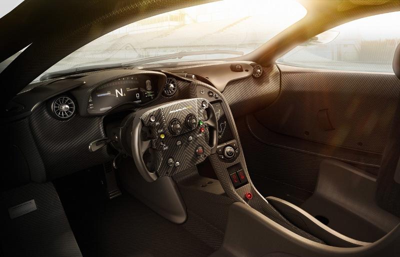 """McLaren P1 GTR """"khoe"""" nội thất đẹp như mơ"""