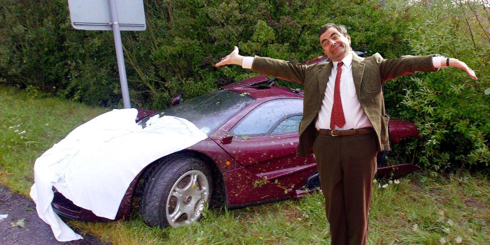 Mr. Bean rao bán McLaren F1 với giá sốc 12 triệu đô