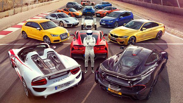 Những khoảnh khắc đáng nhớ nhất của Top Gear