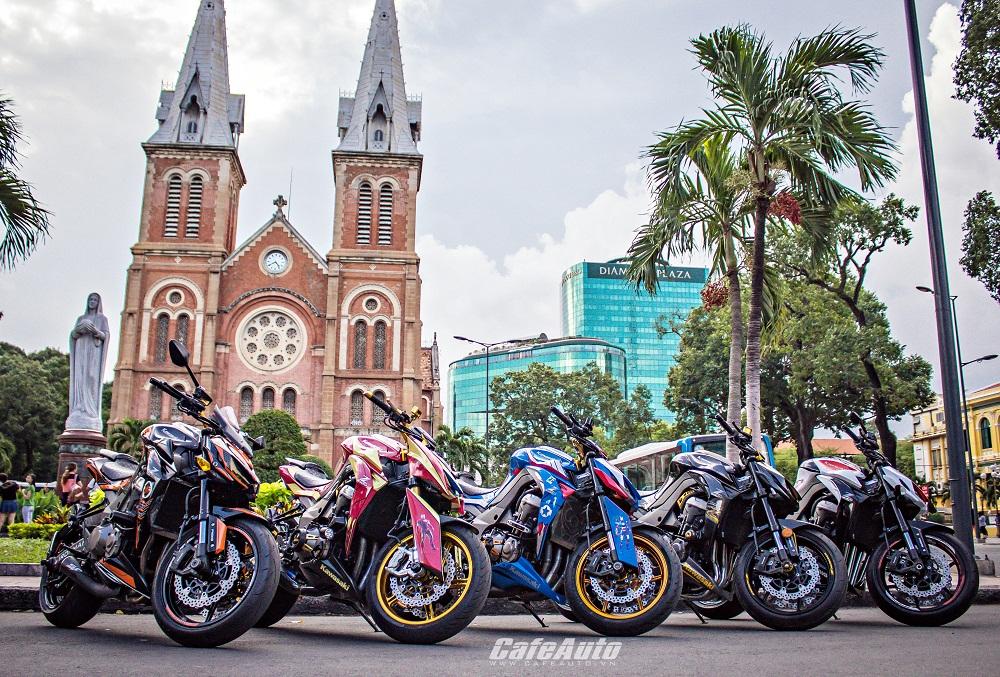 Kawasaki Z1000 độ IronMan cực ngầu