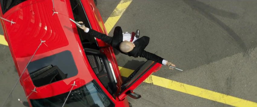 Audi RS7 tham gia vào phim bom tấn Hitman: Agent 47