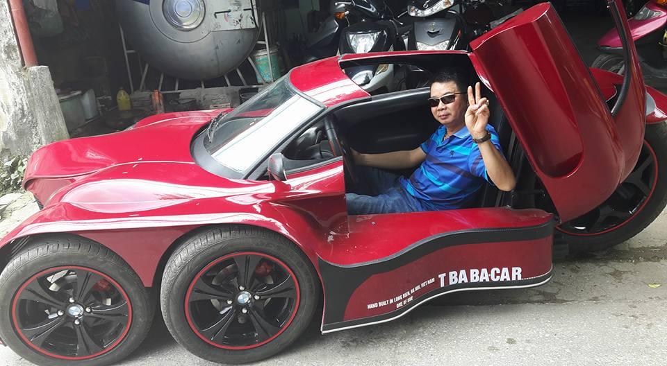 "Chiêm ngưỡng ""ô tô 5 bánh"" tự chế độc đáo của người Việt"