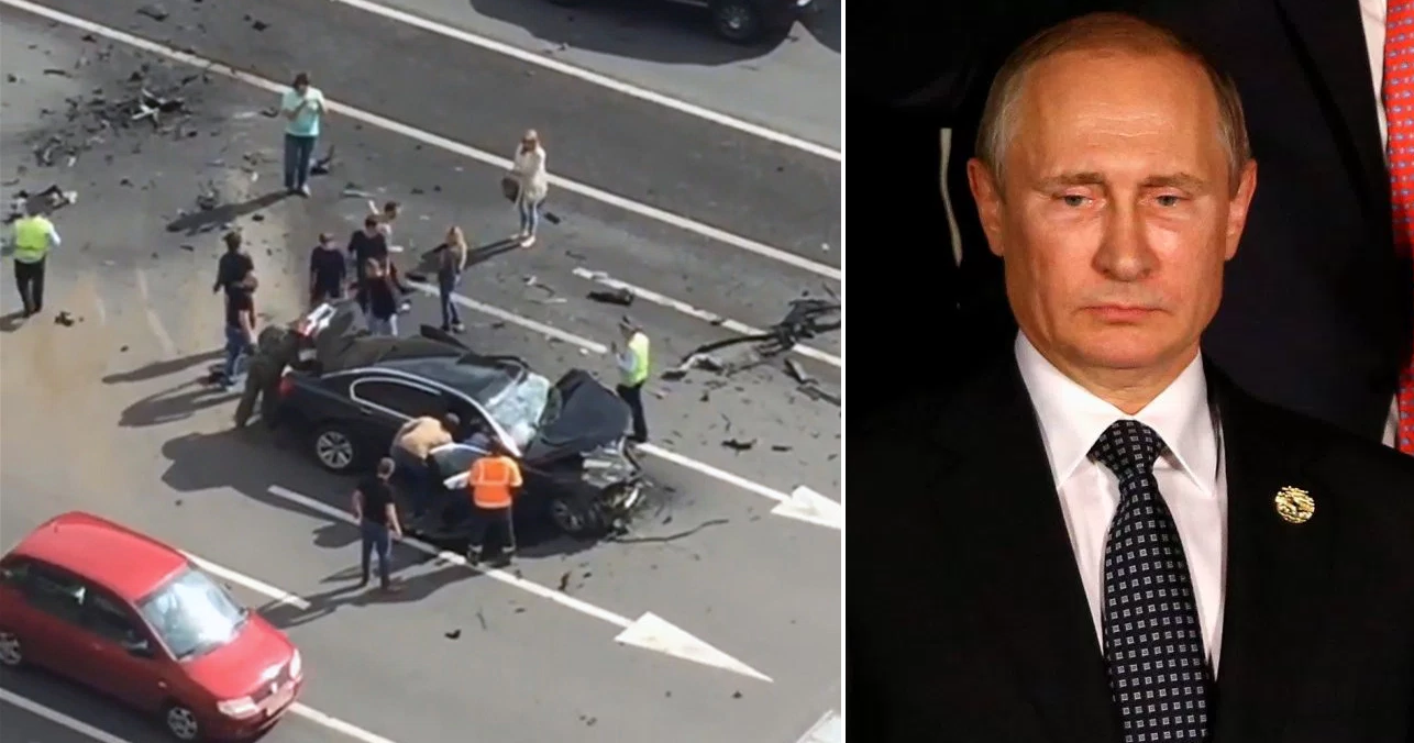 Xe của Tổng thống Nga Putin gặp nạn, tài xế tử vong tại chỗ