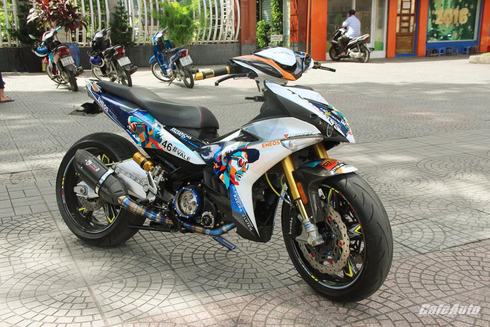 Ngắm Yamaha Exciter độ hàng khủng tại Việt Nam