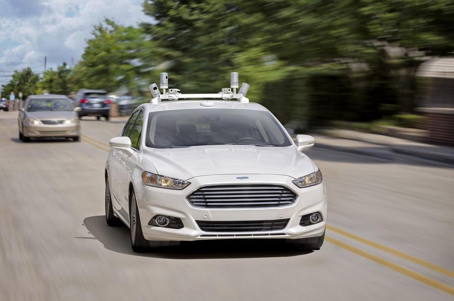 Ford lên kế hoạch ra mắt hàng loạt xe tự hành vào năm 2021