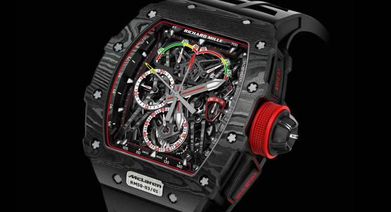 Đồng hồ McLaren F1 giá tới 1 triệu đô, chưa gồm thuế