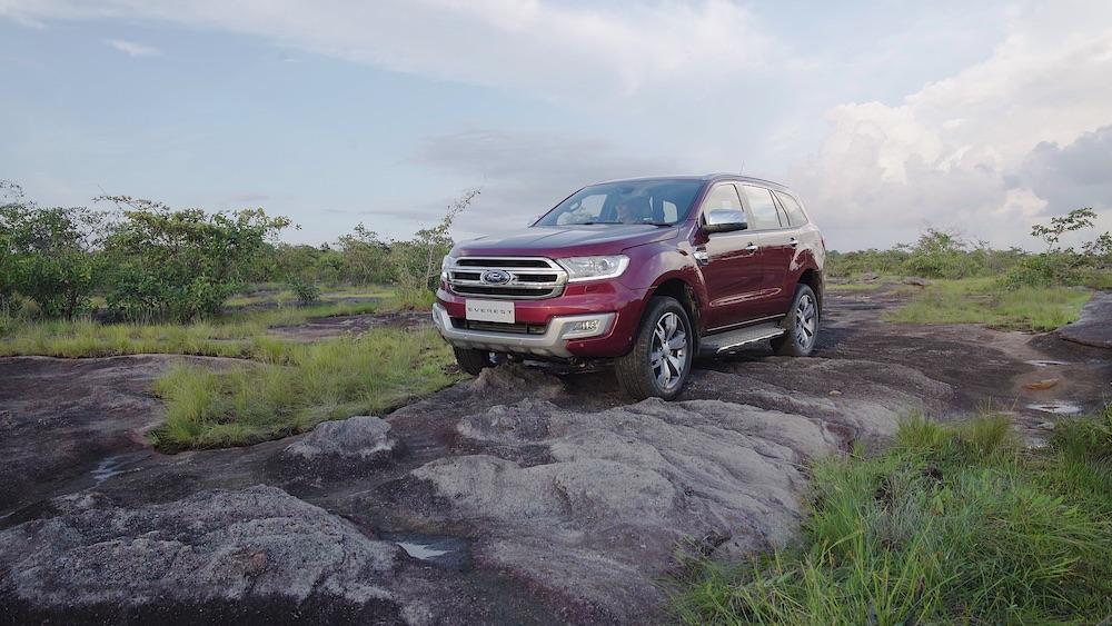 Những trải nghiệm dã ngoại thú vị cùng Ford Everest