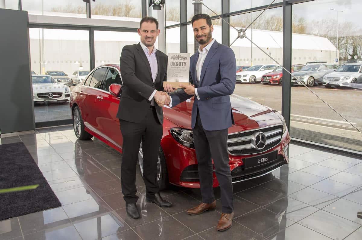 Mercedes-Benz E-Class nhận giải thưởng mẫu xe của năm tại Anh