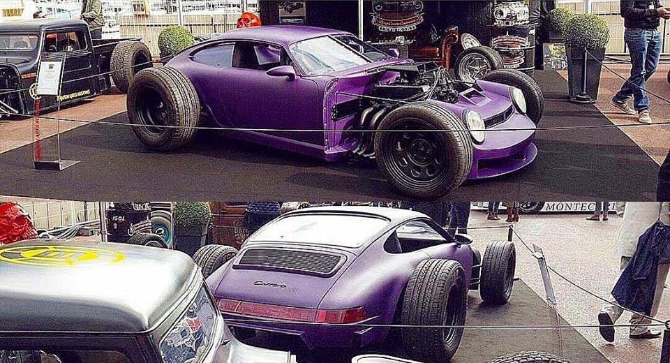 "Porsche 911 Rat Rod - mẫu xe ""độ cực chất"""