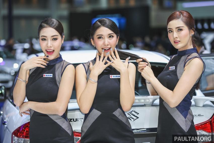 Ngắm dàn mẫu Thái xinh đẹp tại Bangkok Motor Show 2017