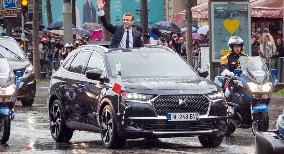 Tổng thống Pháp sử dụng xe giá 1,3 tỷ đồng trong lễ nhậm chức