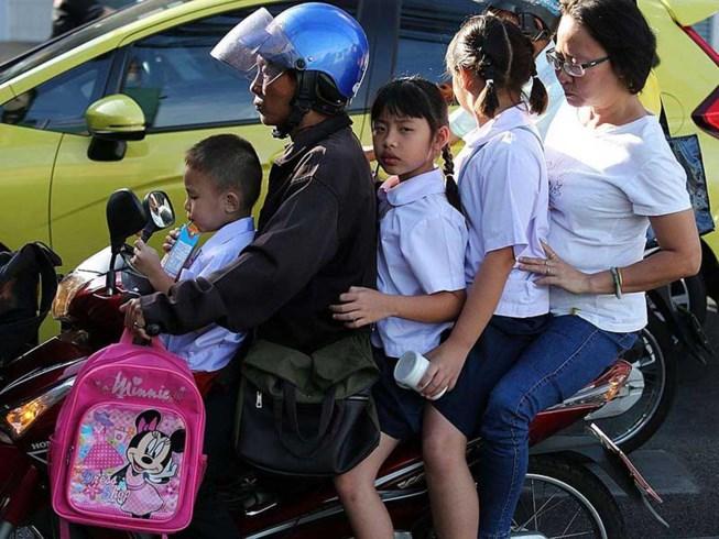 Đất nước 'chết chóc' nhất với người đi xe máy