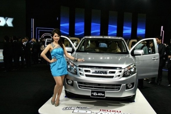 Isuzu D-Max 2012 sắp có mặt tại Việt Nam