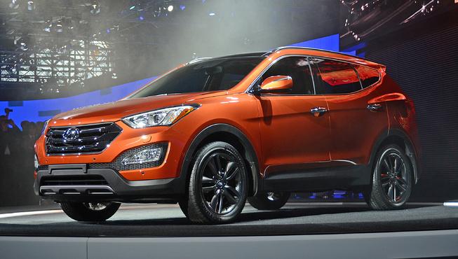 Hyundai Santa Fe 2013 lộ diện hoàn toàn