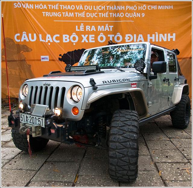 Ra mắt câu lạc bộ xe ô tô địa hình Sài Gòn