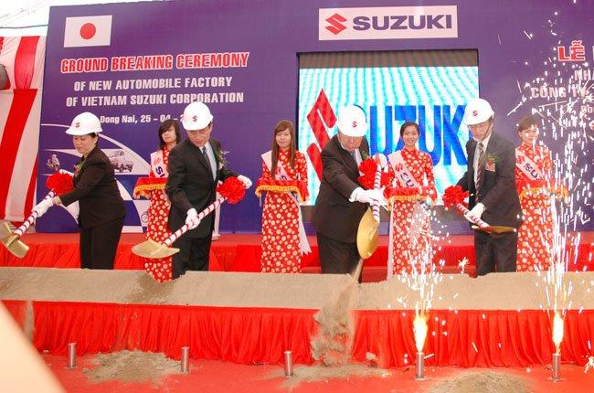 Suzuki đầu tư 13 triệu USD xây nhà máy sản xuất ô tô