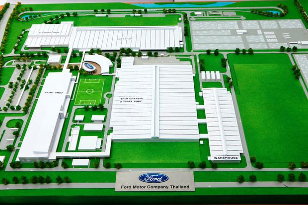 Ford chọn Thái Lan là thị trường ưu tiên trong khu vực