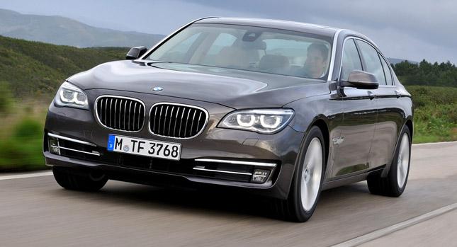 BMW chính thức ra mắt 7-Series 2013