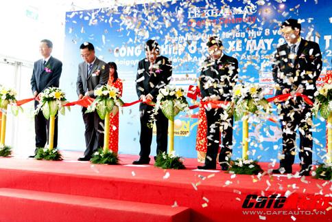 Khai mạc Triển lãm Saigon Autotech & Accessories 2012