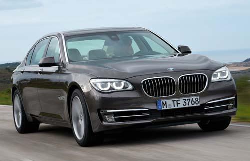 BMW 7 Series 2013 diesel sẽ tới Mỹ vào năm sau