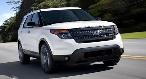 Ford Explorer Sport 2013 có giá 41.545 USD
