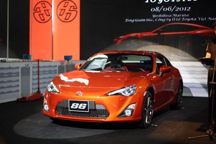Toyota FT-86 có mặt tại Việt Nam với giá 1,6 tỷ đồng